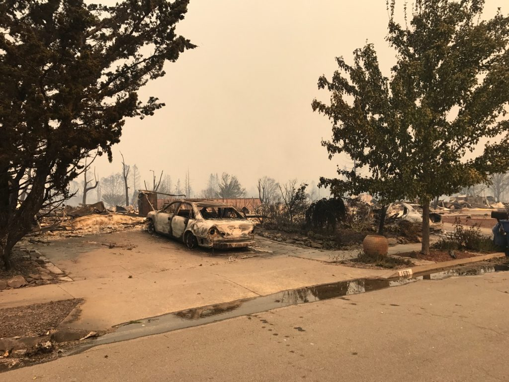 Tubbs Fire Coffey Park