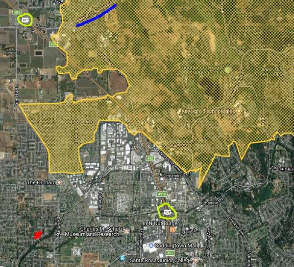 Tubbs Fire Santa Rosa CA