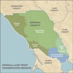 Sonoma Land Trust Map