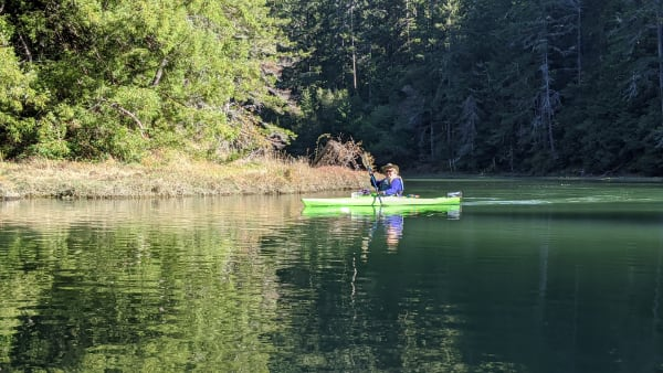 Albion River Kayaking
