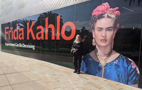 Frida Kahlo at the DeYoung