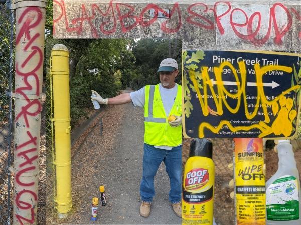 Santa Rosa Graffiti Cleanup